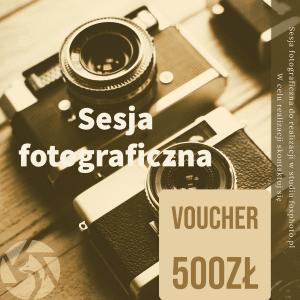 Voucher 500zł na sesję fotograficzną